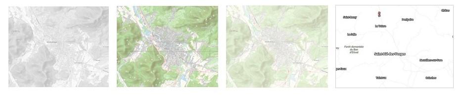 Fonds de plan OpenStreetMap (OSM)