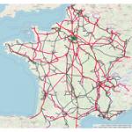 OSM Réseau de transport électrique