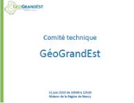 Comité Technique GéoGrandEst