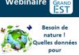 Webinaire données nature et biodiversité